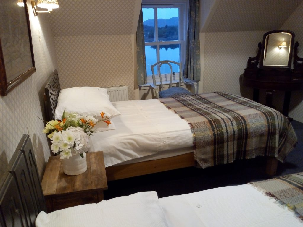 Sleeping bedroom twin